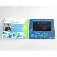 China handmade advertising Video Invitation Card for Photo / video play , Recording wholesale