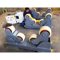 Buy cheap 5Ton Self Aligning Pipe Welding Stands With 2 Idler Rollers Electric Control Systems from wholesalers