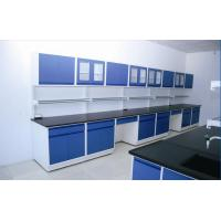 China Resistance to acids alkalis organic solvents All Steel Laboratory  Wall Bench Color Optional wholesale