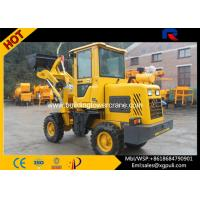 China 0.65CBM Bucket Capacity Compact Wheel Loader , Micro Loader Truck With Seat Belts wholesale