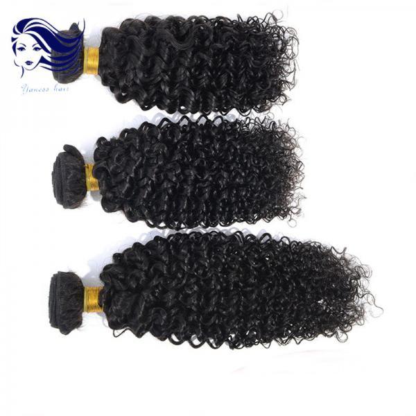 "Quality 18"" Curly Virgin Hair Extensions Unprocessed Virgin Hair Bundles for sale"
