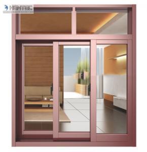 Quality 2.0 MM Thick Champagne Anodized Aluminum Door Extrusions For Silding Door / Casement Door for sale