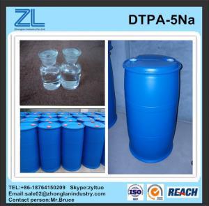 China light yellow DTPA-5Na liquid CAS No.: 140-01-2 wholesale