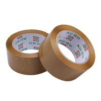 China Reinforced 35 - 65 Mic BOPP Packaging Tape , Strong Sticky Brown Packing Tape wholesale