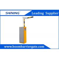 China 2.0mm Steel Intelligent Boom Barrier Gates , Road Vehicles Toll System wholesale