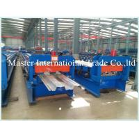 Wholesale Excellent Floor Deck Roll Forming Machine , sheet metal forming equipment 1.5mm galvanized steel from china suppliers