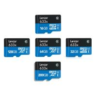 China Lexar 16GB 32GB 64GB 128GB 200GB Micro SD SDHC Micro SDXC lot 4K Class10 95MB/s wholesale