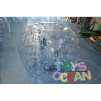 China Colorful Portable  Inflatable Bumper Soccoer Ball Commercial For Children wholesale