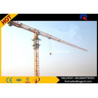 China Multi Color Hydraulic Truck Crane , Lifting Construction Equipment 6 Ton Max. Load wholesale