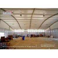 China Flame retardant and UV Resistant Customized 30 X 50m TFS Tent , Curved Sport Event Tents wholesale