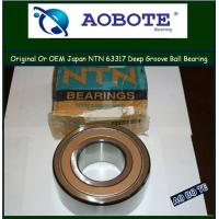 China Deep Groove NTN Ball Bearings 63317 With Heavy Load In Plastic Machinery wholesale