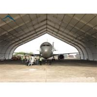 China Curved Aluminum  Aircraft Hanger 25m By 40m For Warehouse Wind - Resistant wholesale