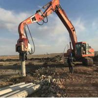 China Hot Sale Excavator/digger Pile Machinery Vh250 Hydraulic Vibro Piling Drivers wholesale