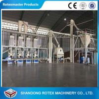 China Complete Biomass Fuel Briquette Pellet Manufacturing Machine With CE ISO wholesale