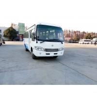 Buy cheap White And Blue Left / Right Hand Drive Sightseeing Star Buses Transport Tourist Passenger from wholesalers