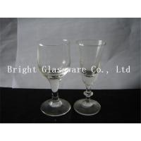China hot sale clear wine glass Glass Goblets Glassware for wholesale wholesale