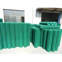 "China PVC Welded Wire Mesh Green,2""x2"",1""x1"" wholesale"