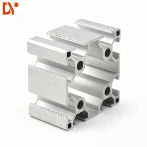 China V Slot Structure Aluminium Extruded Sections , Customized Extruded Aluminum Profiles on sale