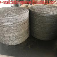 China Stainless Steel Gas Liquid Knitted Wire Mesh /Oil Demister Knitted Stainless Steel Wire Mesh/Knitted Wire Mesh wholesale