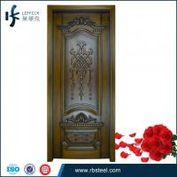China 2015 new design high end customized timber door manufacturers China wholesale