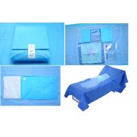 Wholesale Hospital Use Medical EO Sterile Fenestrated Drape Pack , Hip U Drape from china suppliers