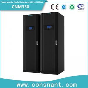Flexible Modular Parallel Redundancy Online UPS 30-1200KVA with Power Factor 1.0