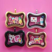 China High Quality Magnetic Glass Charms Floating Locket Pendant wholesale