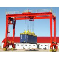 China RTG tyred type container portal crane wholesale