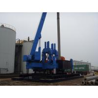 China Eco Hydraulic Piling Machine / Hydraulic Rotary Piling Rig No Vibration wholesale