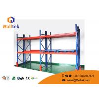 China Steel Warehouse Pallet Shelving Corrosion Prevention For Industrial Storage on sale
