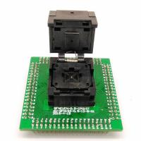 Wholesale Programming Socket QFN48 MLF48 IC Test Adapter Pitch 0.5mm Clamshell Chip Size 7*7 Flash Adapter Burn in Socket from china suppliers