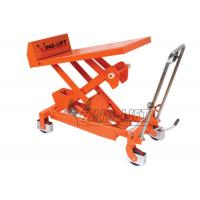 China Safety Hand - hydraulic Tilting & Lifting Table Equipment with Two Brakes wholesale