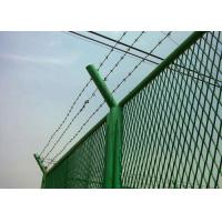 China Anti Theft Electro Barbed Wire Mesh Fence Coil With 7.5-15cm Spacing wholesale