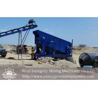 China Circular Motion Vibrating Screen Iron Ore Concentration Process on sale