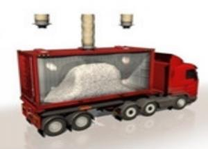 China Q235 98% Filling Efficiency 20m Bulk Truck Loading System wholesale