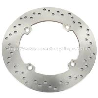 China Silver Motorcycle Brake Disc / 2Cr13 Stainless Steel Disc Brake In Bike on sale