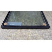 Quality Insulated Glass Panels With Black Frame / Sound Proof Insulated Replacement for sale
