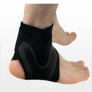 China 2020 new design elastic adjustable copper arthritis ankle brace sprain for gym wholesale