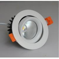 China 12 Watt CREE COB Led Ceiling Downlights Dimmable For Hotel / Bathroom / Office wholesale