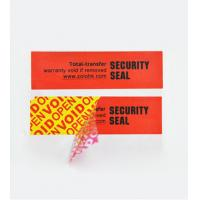 China Total-Transfer VOID Labels wholesale