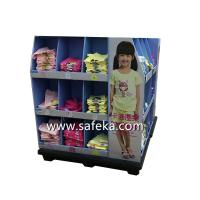 Quality OEM/ODM Corrugated Cardboard Full Pallet Displays for Clothes in Walmart for sale