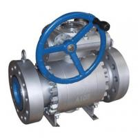 Quality Forget full bore ball valve trunnion ball valve Trunnion Ball Valve, 3pc body. for sale