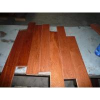 China Oak Solid Flooring .Flat Surface,UV lacquer, Gunstuck Color wholesale