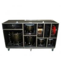 China large drum flight case with foamed inside wholesale