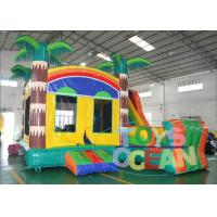 China Commercial Inflatable Bouncer Combo , Boys' Party Jungle Bounce House wholesale