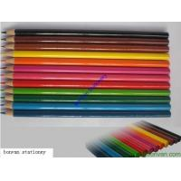 China 12 long promotional color pencil set for back to school, advertising drawing use wholesale