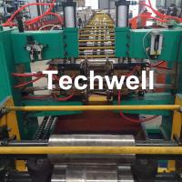 China Car Carriage Plate Cold Roll Forming Machine with Spot Welding for Q235 Steel Sheet wholesale