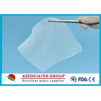 China Cotton Non Woven Gauze Swabs 10 x 10 , X-ray Detectable Gauze Swabs wholesale