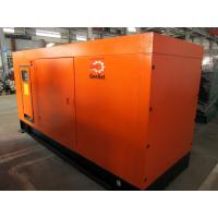 China 125KVA 1500RPM Silent Diesel Generator 4 Pole , Silent Electric Generator wholesale