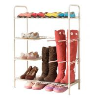 China Sturdy Metal Shoe And Boot Storage Rack Shelf Home Shelving Units 70 * 30 * 72 CM wholesale